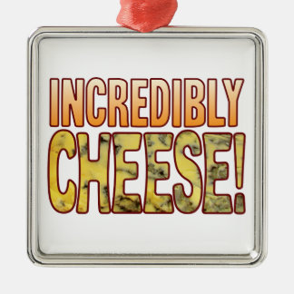 Incredibly Blue Cheese Christmas Ornament