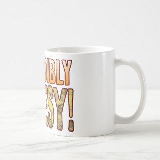 Incredibly Blue Cheesy Coffee Mug