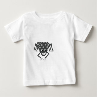 """""""Incy"""" the spider (black and white) Baby T-Shirt"""
