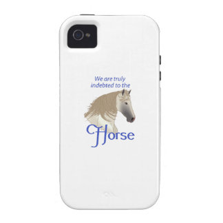 INDEBTED TO THE HORSE CASE FOR THE iPhone 4