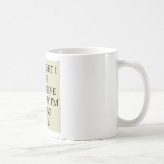indecision doubt design coffee mug