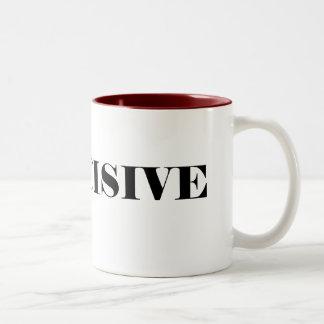 INDECISIVE Two-Tone COFFEE MUG
