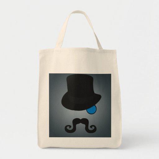 Indeed, Gentleman Grocery Tote Bag