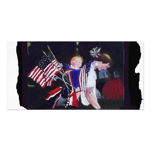 Independance Day1 Photo Greeting Card