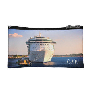 Independence at Cozumel Monogrammed Cosmetic Bag