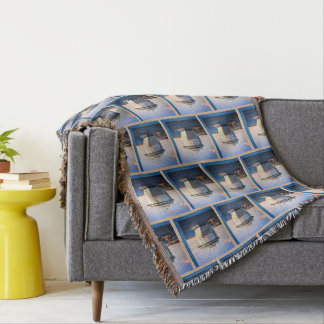 Independence at Cozumel Patterned Throw Blanket