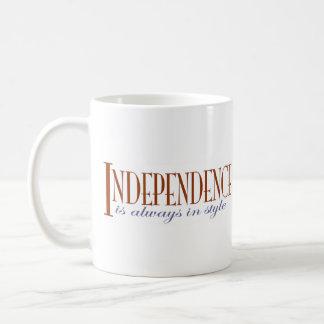 Independence Basic White Mug