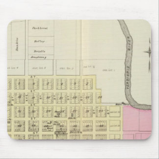 Independence, Coffeyville and Havana, Kansas Mouse Pad