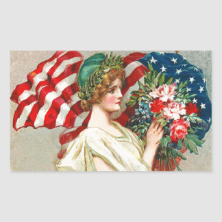 Independence Day, 4th of July  Stickers
