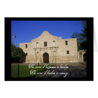 Independence Day-Alamo Greeting Card