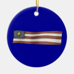 Independence Day American Flag Ornaments