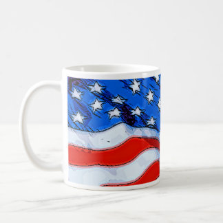 Independence Day Banner Coffee Mug