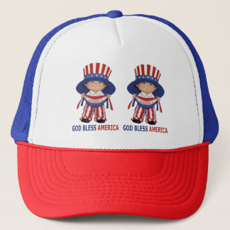"Independence Day"" Beautiful Trucker Hat.."""" Trucker Hat"