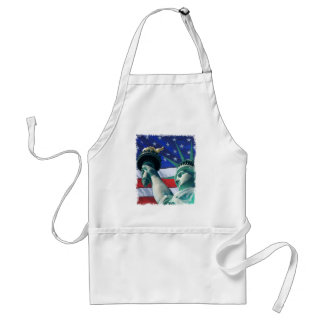 Independence Day Celebration Statue of Liberty Standard Apron