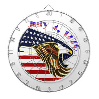 Independence Day Dartboard With Darts