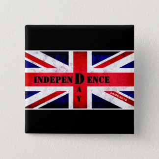 Independence Day for United Kingdom 15 Cm Square Badge