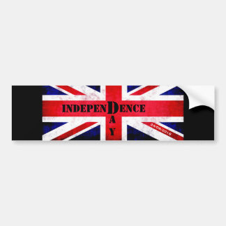 Independence Day for United Kingdom Bumper Sticker