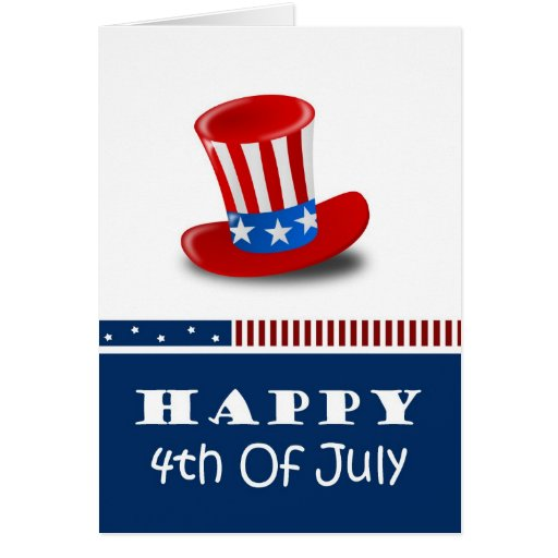 Independence Day fourth of july Greeting Card
