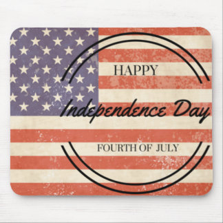 Independence Day - Happy 4th (fourth) July! Mouse Pad