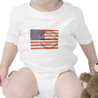 Independence Day - Happy 4th (fourth) July Bodysuit