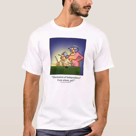 """Independence Day Humour Tee Shirt """"Spectickles"""""""
