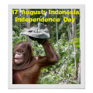 Independence Day Indonesia August 17 Poster