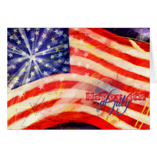 Independence Day & July 4 Card