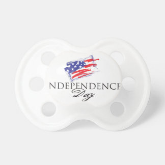 Independence Day July 4th usa Baby Pacifier