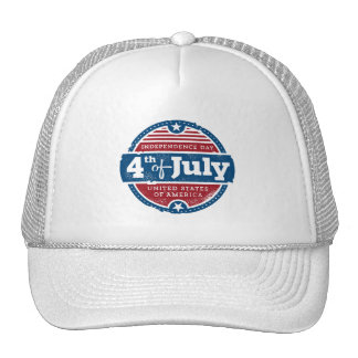 Independence Day July 4th usa united states Cap