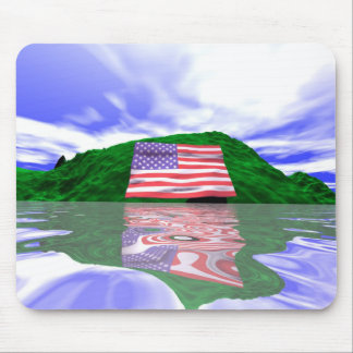 Independence Day Land Mouse Pad