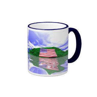 Independence Day Land Ringer Mug