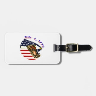 Independence Day Luggage Tags