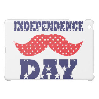 Independence Day Moustache iPad Mini Covers