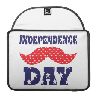 Independence Day Moustache MacBook Pro Sleeve