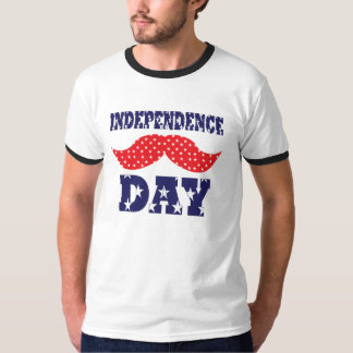 Independence Day Moustache Shirts