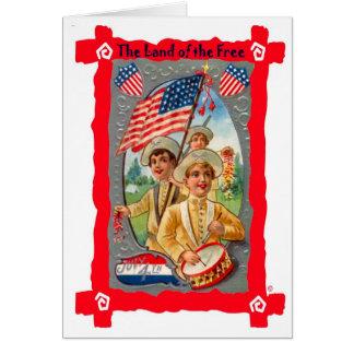 Independence Day parade Card