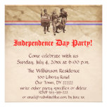 Independence Day Party Personalized Announcement