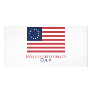 Independence Day Personalized Photo Card