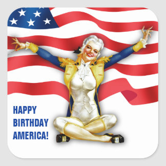 Independence Day Pin-up Stickers