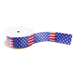 Independence Day Satin Ribbon