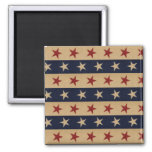 Independence Day Square Magnet