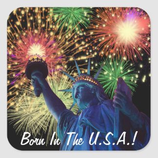 Independence Day! Square Sticker