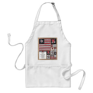 INDEPENDENCE DAY STANDARD APRON