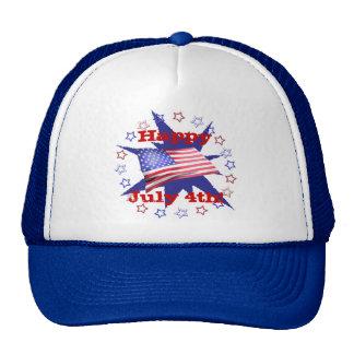 Independence Day Star Circle Cap