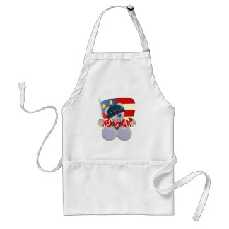 Independence Day Teddy Bear Standard Apron