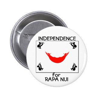 Independence for RAPA NUI 6 Cm Round Badge