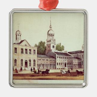 Independence Hall, Philadelphia Christmas Ornament