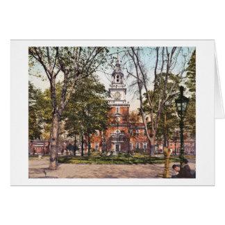 Independence Hall Philadelphia, PA 1900 Vintage Card