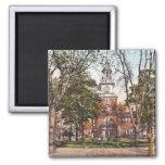 Independence Hall Philadelphia, PA 1900 Vintage Fridge Magnets