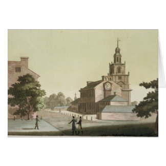 Independence Hall, Philadelphia, Pennsylvania, fro Card